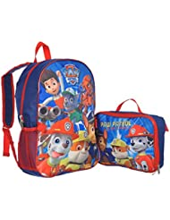 Paw Patrol Doggy Heroes Backpack with Lunchbox - blue/red, one size