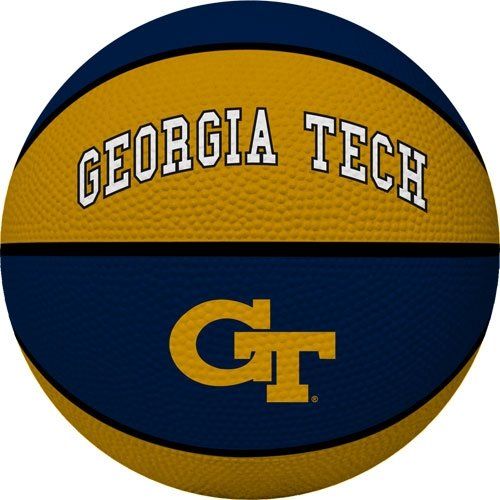 (NCAA Georgia Tech Yellowjackets Crossover Full Size Basketball by Rawlings)