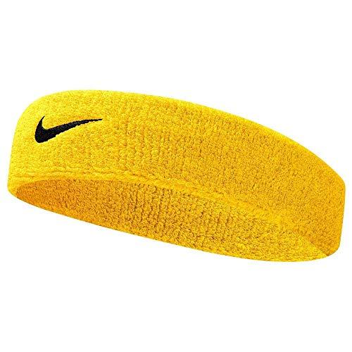 - NIKE Swoosh Headband (Amarillo/Black)