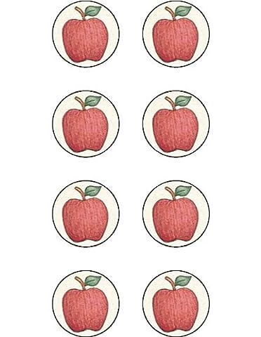 Teacher Created Resources Apples Mini Stickers from Debbie Mumm, Multi Color (4548)