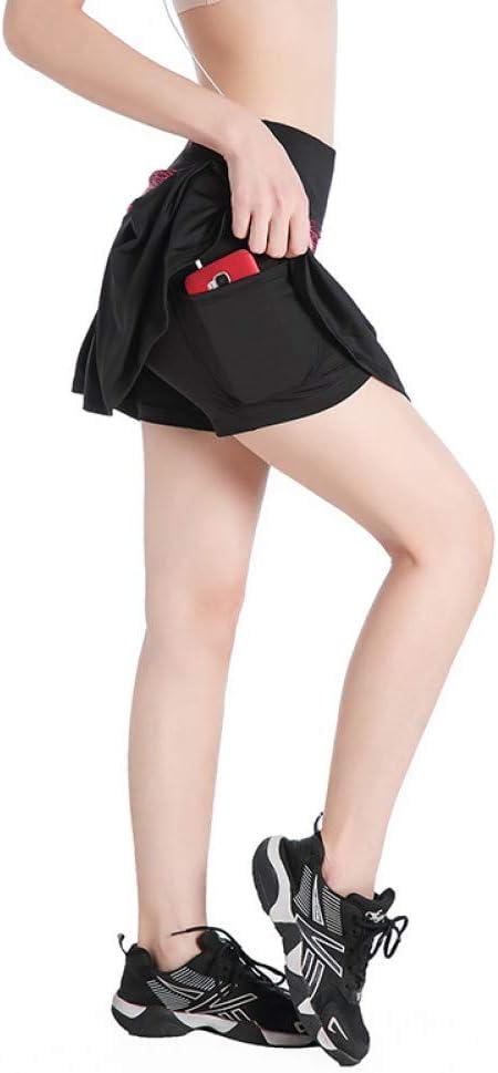 DAHDXD Faldas Cortas de Tenis y Running de Tenis para Mujer Faldas ...