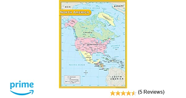 Workbook continents for kids worksheets : Amazon.com : Teacher Created Resources North America Map Chart ...