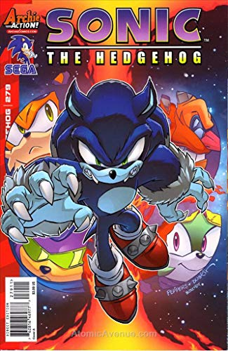 (Sonic the Hedgehog #279A FN ; Archie comic book)