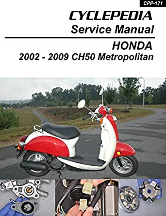 Amazon.com: 2002-2009 Honda CHF50 Metropolitan Service Manual eBook:  Cyclepedia Press LLC: Kindle StoreAmazon.com