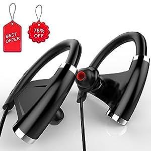 Auriculares Bluetooth 4.1+EDR Deportivos, Navtour Auriculares Inalámbricos Con Sonido Estéreo para Deporte con