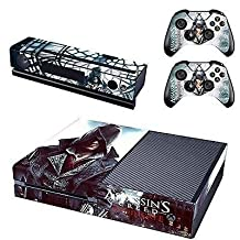 New Assassi Creed Syndicate Xbox One Console & Kinect & 2 Controller Skin Decals