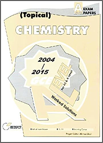 Gce a level chemistry topical 2004 to 2015 redspot publishing gce a level chemistry topical 2004 to 2015 redspot publishing 9787522064727 amazon books fandeluxe Image collections