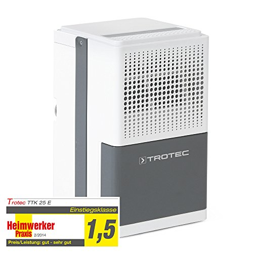 TROTEC Luftentfeuchter TTK 25 E (max. 12 Liter/Tag)
