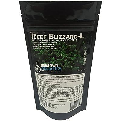 Brightwell Aquatics Reef Blizzard-L Powdered Planktonic Food Blend for LPS Corals