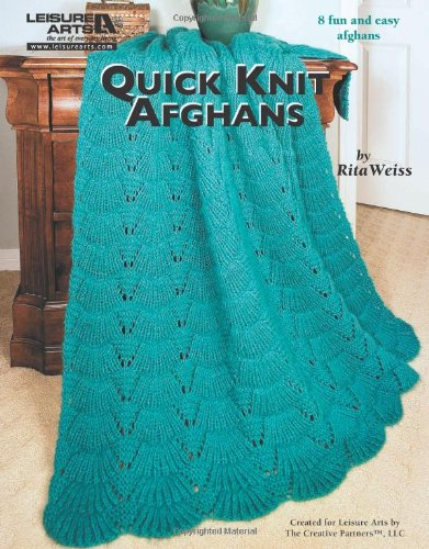 Amazon Leisure Arts Quick Knit Afghans