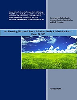 Architecting Microsoft Azure Solutions Study ebook product image