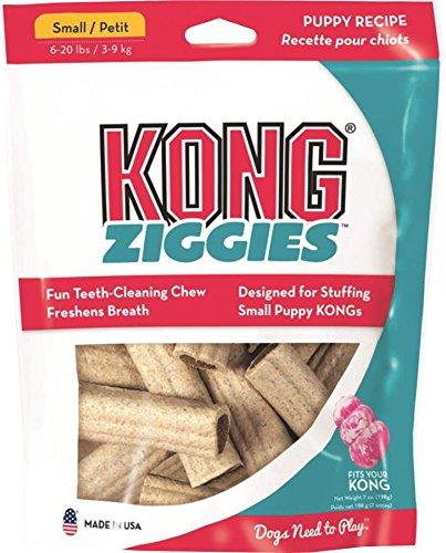 KONG Puppy Stuff'N Ziggies Small Dog Treat 7-Ounce