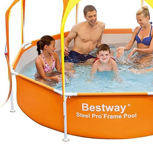 Bestway 8' x 20'' Splash in Shade Kids Spray Play Swimming Pool & Canopy (2 Pack) by Bestway (Image #4)