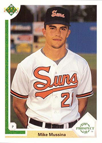 mike mussina rookie card
