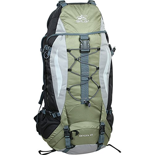 Backpack Oxygen 65 Universal & Functional Pack Designed for Multi-Day Adventures  Green B072Q7YQDP