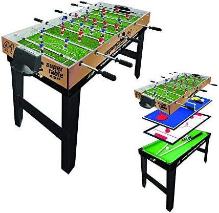 SPORT ONE Fútbol Sala 4 en 1 Maxi 4vs4 Barras telescópicas: Amazon.es: Coche y moto
