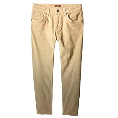 7 For All Mankind Boys Corduroy Slimmy Pants (Khaki, 12)
