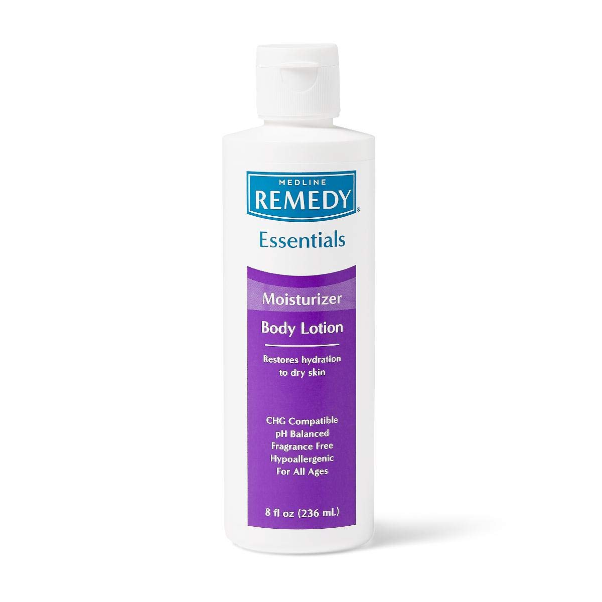 Remedy Essentials Moisturizing Body Lotion, Unscented, 8 oz.