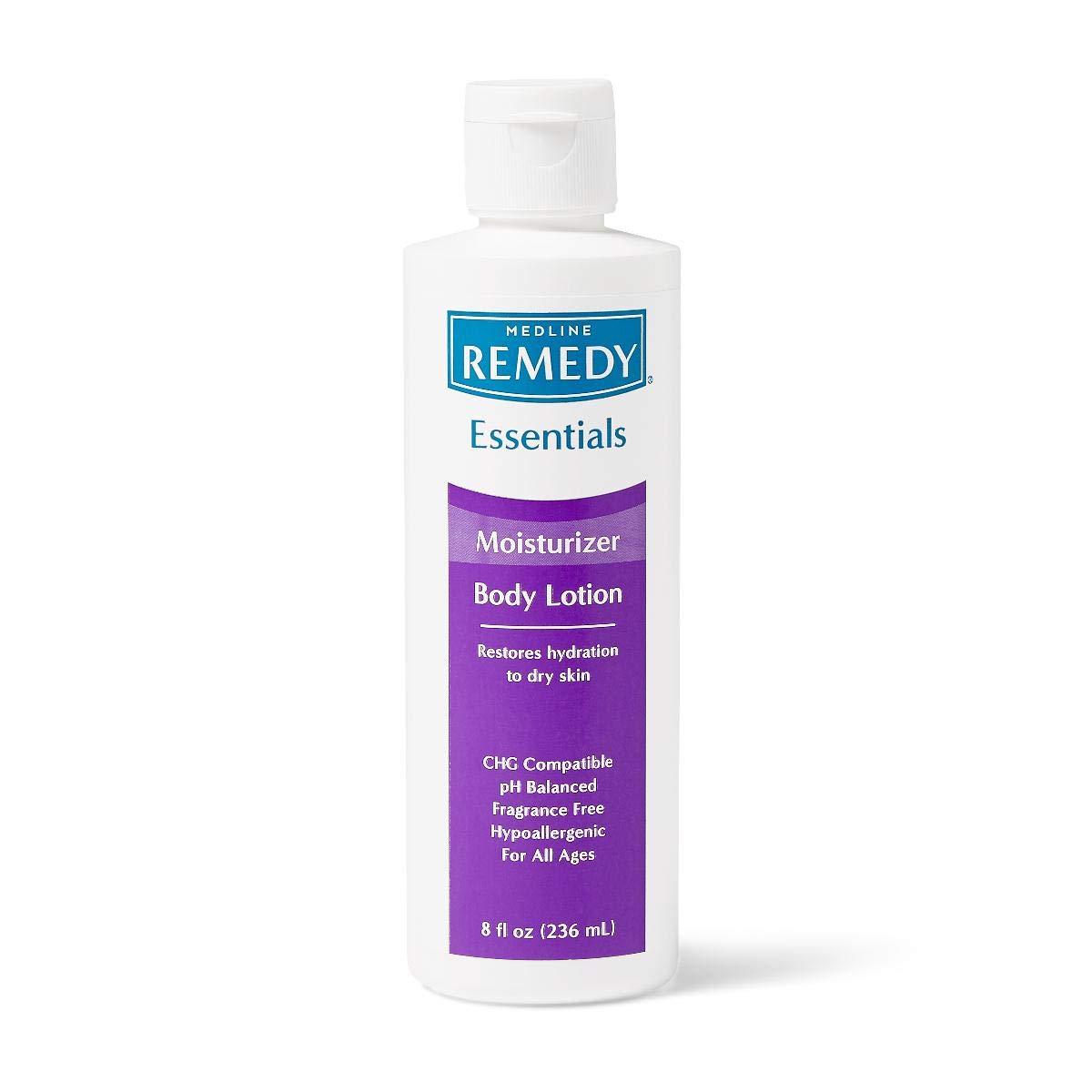 Remedy Essentials Moisturizing Body Lotion, Unscented, 8 oz.