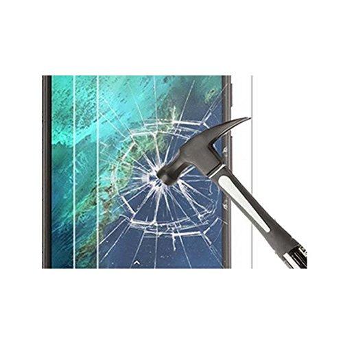 Meijunter LCD Guard Film Tempered Glass Screen Protector For Alcatel IDOL X OT-6040 (Alcatel Idol X 6040 Screen)