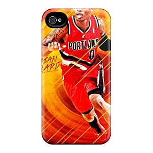 Fashionable Style Case Cover Skin For Iphone 4/4s- Damiand Lillard