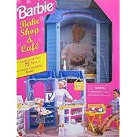 Barbie Bake Shop & Cafe Playset - Más de 75 piezas de juego (1998 Arcotoys, Mattel)