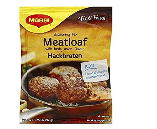 Maggi Hackbraten (Meat Loaf) Mix, 3.25-Ounce (Pack of 12)