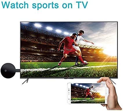 TV Stick Receptor WiFi Display Dongle Soporte Miracast Airplay DLNA 1080PAdaptador HDMI inal/ámbrico Pantalla de Espejo Airplay Dongle de tel/éfono a Pantalla Grande