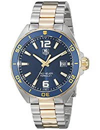 TAG Heuer Men's WAZ1120.BB0879 Formula 1 Analog Display Swiss Quartz Two Tone Watch