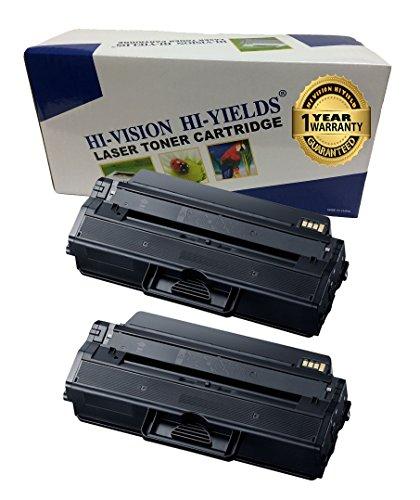Samsung 2k Yield Toners (HI-VISION 2 Pack Compatible Samsung MLT-D115L 3K High Yield Toner Cartridge Replacement for Samsung Xpress SL-M2620, SL-2820, SL-M2670, SL-2870, SL-M2870FW, SL-ML2820DW, SL-M2820, SL-M2870)