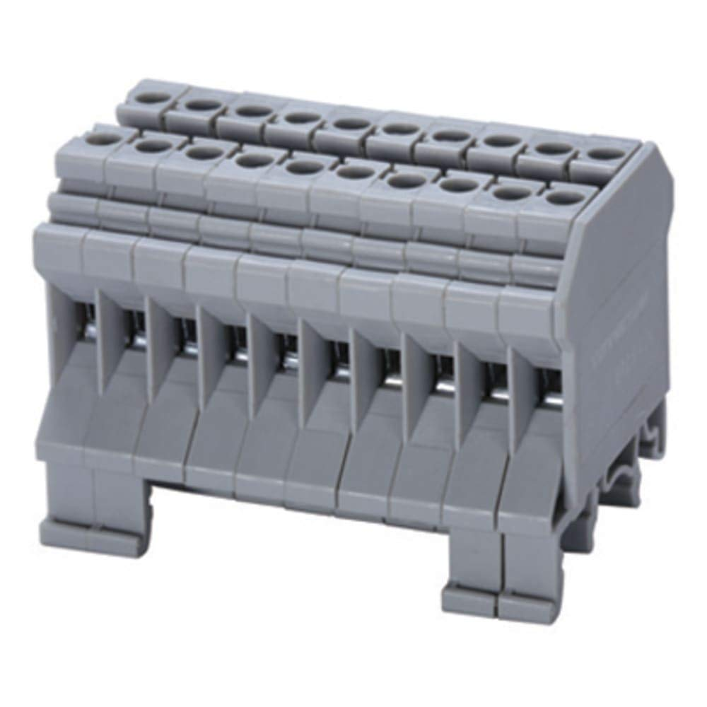 Distribution Block; 6mm, Pack of 10 by altech-corp (Image #1)