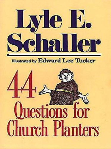 - 44 Questions for Church Planters