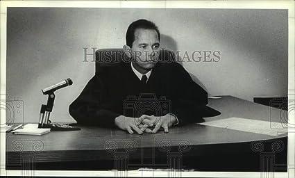 Amazon com: Vintage Photos 1990 Press Photo City Court Judge