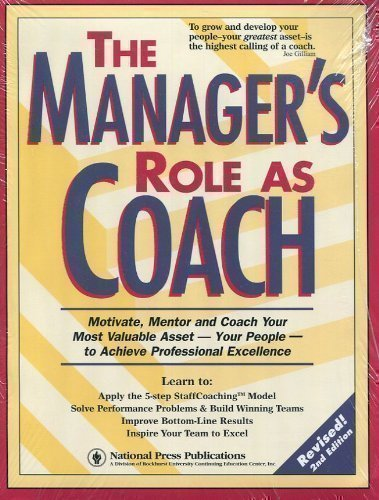coaching skills for managers pdf