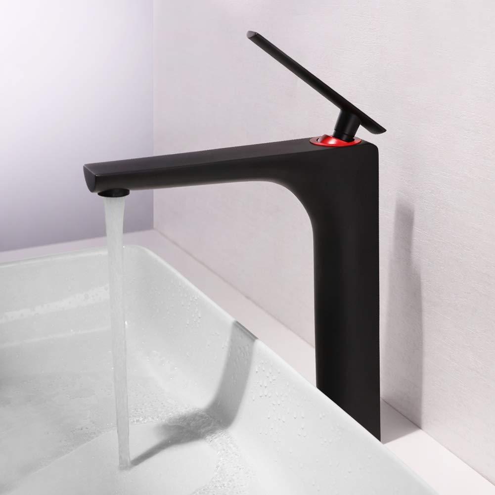 High ZMHome Bathroom Basin Single Hole Basin Mixer Sleek Minimalist Style Hot And Cold Mixed Water Washbasin Faucet,High