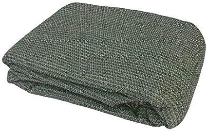 MP Essentials color azul y gris Carpa de suelo tejida resistente a la intemperie y a la putrefacci/ón