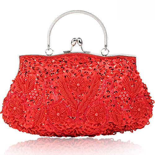Borsa Fiore XCXDX d Design K Handmade Donna Pochette Vintage Cena SYtwqrUYz