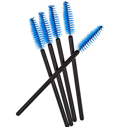 Price comparison product image 10Pcs Freedi Hummingbird Feeder Brushes Parts Cleaning Brush Mini Nylon Small Little Brush Set Blue