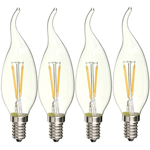 Filament Incandescent Equivalent Chandelier Candelabra