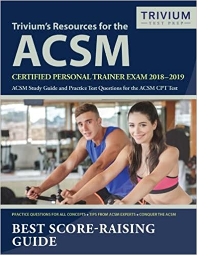 Amazon com: Trivium's Resources for the ACSM Certified