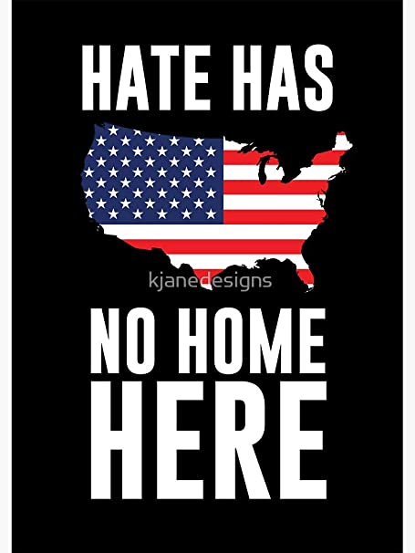 Hate Has No Home Here HHNHH Sticker Motorcycle Car Truck Window Sticker Decal