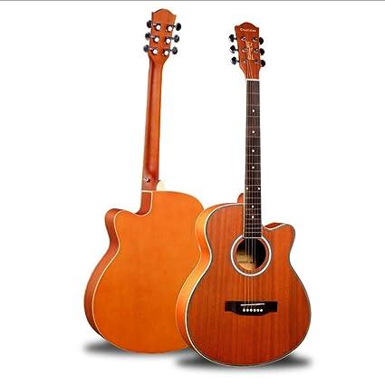 Boll-ATur - Guitarra acústica para principiantes, kit de guitarra ...