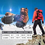 ZOMAKE Ice Cleats for Shoes and Boots, Walk
