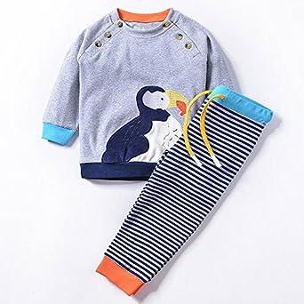 3e2ed6348 Kids Clothes Sets Spring Autumn Hoodies Baby Boys Girls Cartoon Set ...