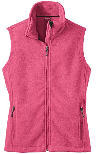 Womens Soft and Cozy Fleece Vests in 8 Colors: Sizes XS-4XL