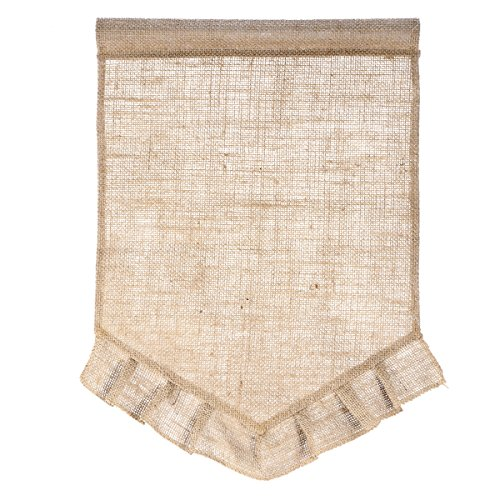 Price comparison product image Tinksky Blank Garden Flag Jute Yard Flag (Brown)