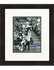 Autograph 224001 New York Jets Image No. 3 Matted & Framed Don Maynard Autographed 8 x 10 in. Photo