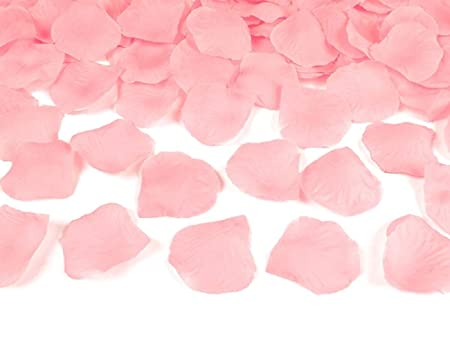 Sideso 1000 Pétalos Rosa Boda Flores Dispersa Flor Niños