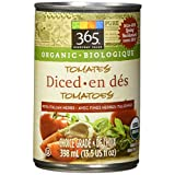 365 Everyday Value Organic Diced Tomatoes with Italian Herbs, 13.5 oz