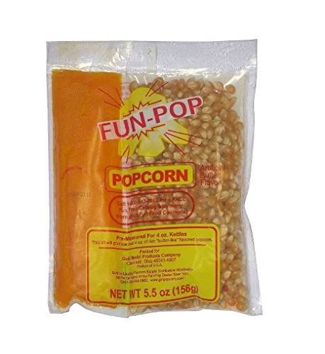 Gold Medal Fun pop Popcorn coconut